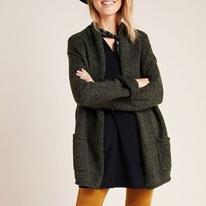 Anthropologie Josie Cardigan Sweater in Holly -NWT